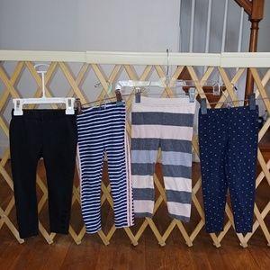 Girls 2t legging bundle